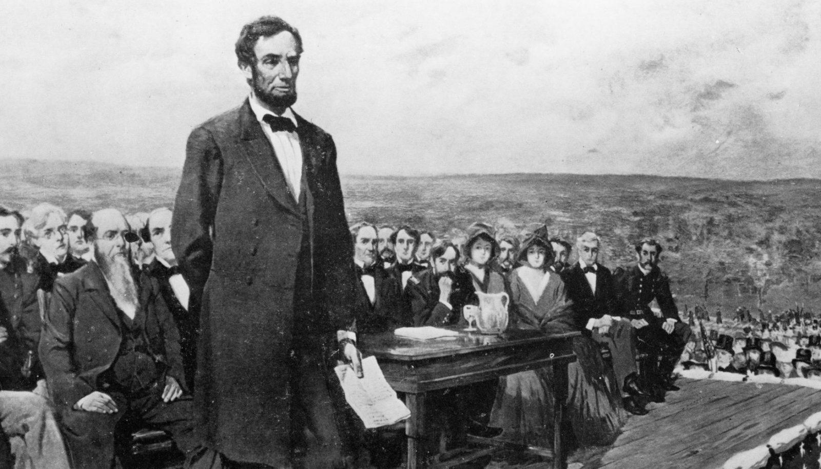 Авраам Лінкольн. Геттісбурзька промова
