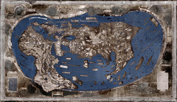 Ученые Йельского университета (США) восстановили карту, которой пользовался Христофор Колумб