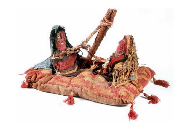 Дві ткалі. Доколумбова культура Чанкай, Перу (1200-1470 рр. н.е.)