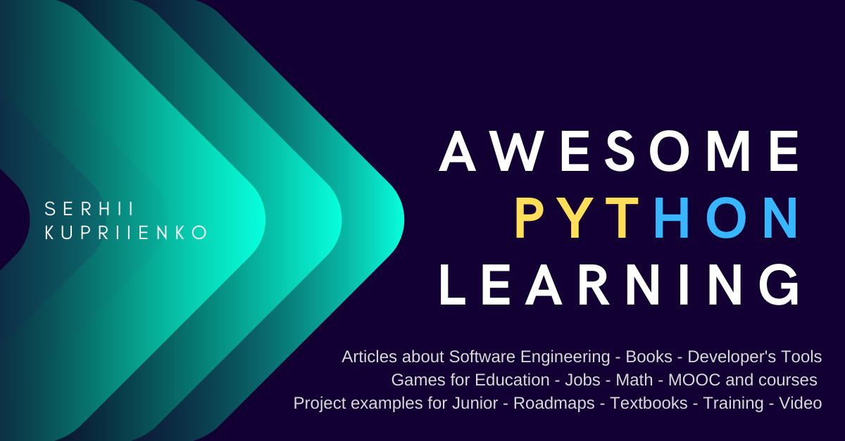 Awesome Python Learning