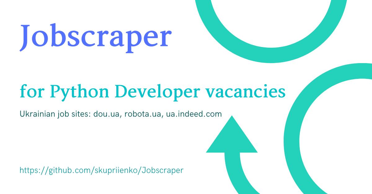 Python Jobscraper