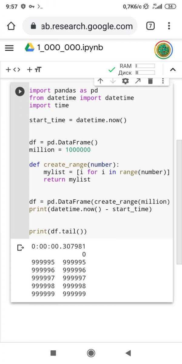 скільки часу займе записати 1 мільйон рядків у базу даних