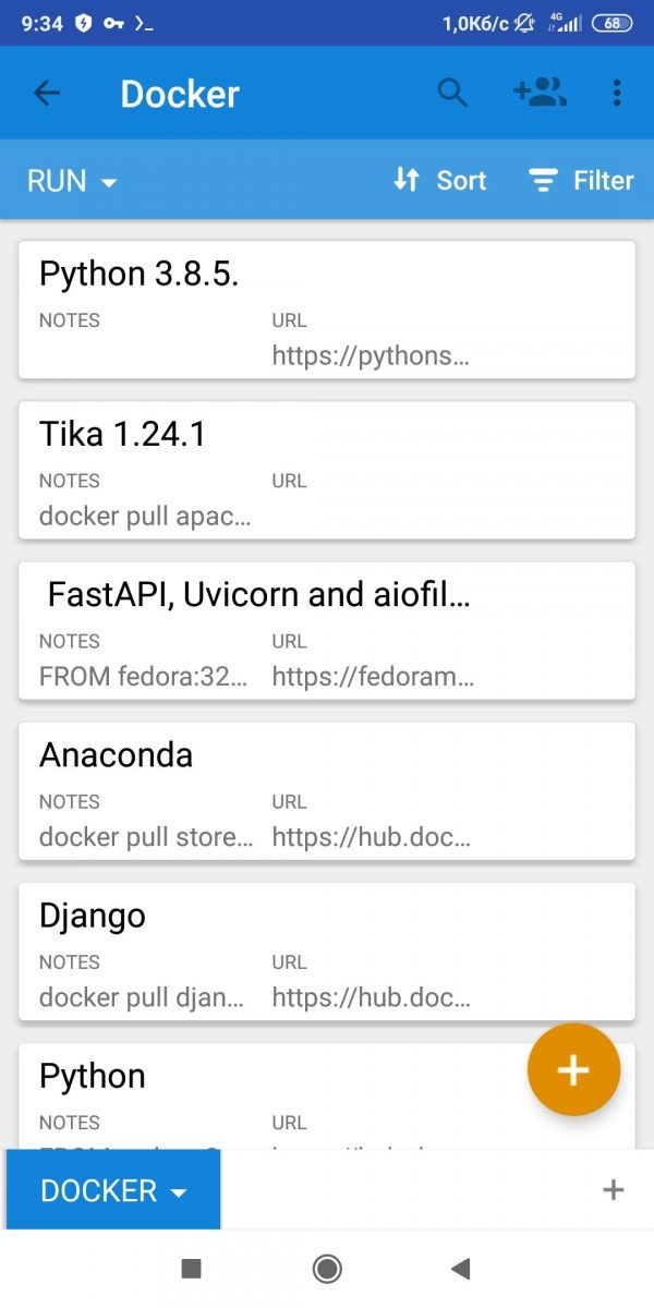 Docker with Airtable