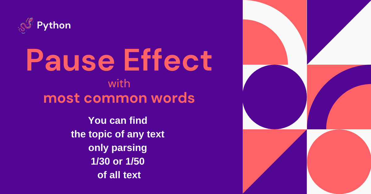Pause-Effect